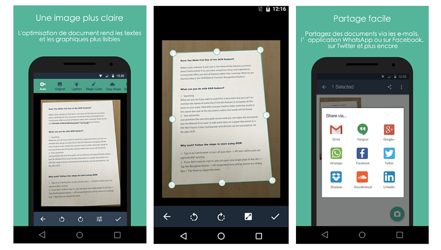 4 Meilleures Applications Pour Scanner Vos Documents Gratuitement