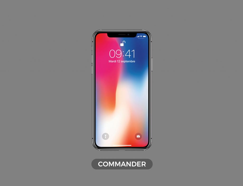 iphone-x-commander