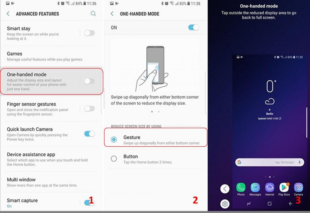 Samsung-galaxy-S9-mode-une-main