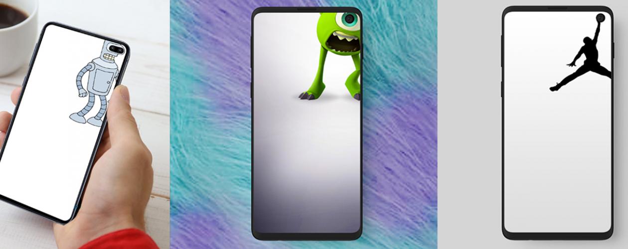 Samsung Galaxy S10 Des Fonds D Ecran Pour Cacher Votre Camera